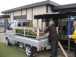 富浜 温室 車 024-2